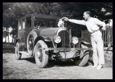 circa 1930 Citroen C-6 20 HP saloon, the car not the cat :-)